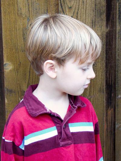 Boys Short Haircut Straight Fine Hair